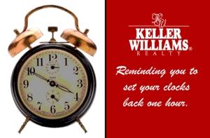 KW Fall Back Clock